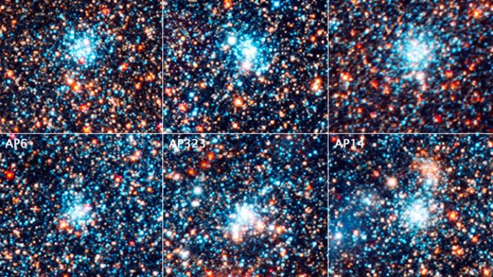 Hubble survey unlocks clues to star birth in neighboring galaxy