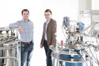Menno Veldhorst and  Andrew Dzurak