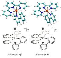 Two Isomers of Iridium Hydride Complex