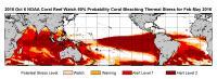 NOAA Bleaching Outlook Feb-May 2016