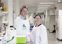 Dr. Dan Carter and Jayne Murray, Children's Cancer Institute Australia