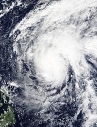 MODIS Image of In-fa
