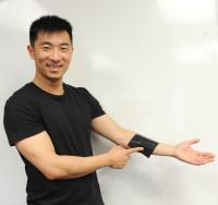 Daniel Xu with 2-D Sensor