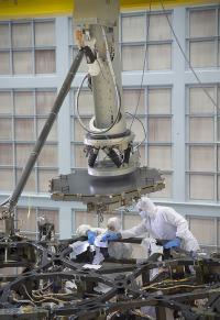 Prep for Installation inside a Massive Clean Room at NASA Goddard