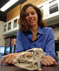 Researcher Laura Porro