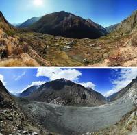 Post-Earthquake Landslide Obliterates Village of Langtang, Nepal