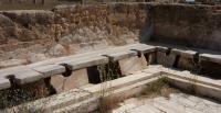Roman Latrines From Lepcis Magna in Libya