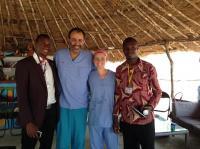 Leadership Team at Ebola Treatment Unit