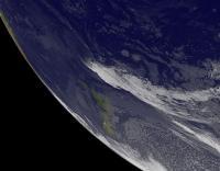 GOES-West Image of Ula