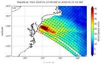 RapidScat Measures Winter Storm's Coastal Winds