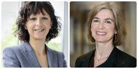 Emmanuelle Charpentier and Jennifer Doudna, University of Leuven