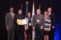 Jayhawk SFS Leadership from the University of Kansas in Washington, D.C.