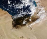 Oil Fires in Libya