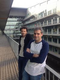 Alexandros Pitis and Toni Gabaldon