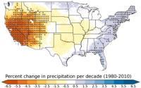 Southwest Drying Map