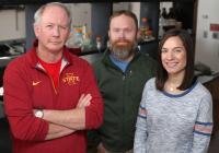 Kevin Schalinske, Matthew Rowling and Samantha Jones, Iowa State University