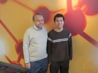 Drs. Ashok Bhagwat and Weilong Hao, Wayne State University