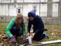 Gathering Urban Soil Samples for Testing
