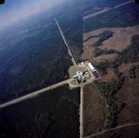 Aerial View of the LIGO Laboratory in Louisiana