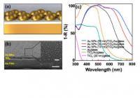 Multilayered (Au NPs/TiO2/Au) Photoelectrode