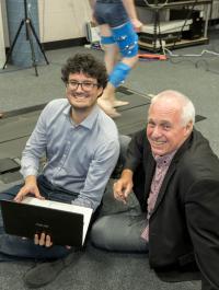 David Lloyd and Claudio Pizzolato, Griffith University