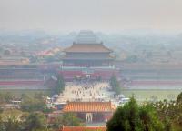 Forbidden City Under Smog