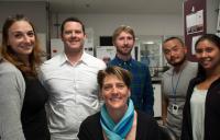 Malene Hansen, Ph.D., and Members of Her Laboratory