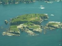 Tatoosh Island Aerial