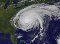 Hurricane Irene in August 2011