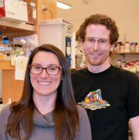 <i>Neuron</i> Paper Co-Authors Jen Hazen and Will Ferguson