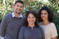 Nancy Collins, Jeff Bowen, and Lauren Winczewski