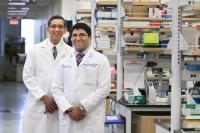 Dr. Prabhakar Baliga, left, and Dr. Satish Nadig