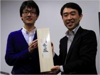 Dr. Hidenori Takeuchi and Professor Tetsuya Higashiyama