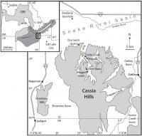 Cassia Hills Map