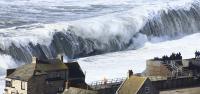 Chesil Beach Storm