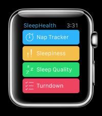 SleepHealth Watch Screen