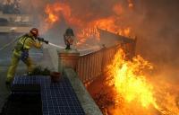 September 2012 Shockey Wildland Fire Near San Diego, Califorina