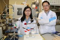 Xueli Zheng and Dr. Bo Zhang, University of Toronto