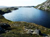 Lake in Greenland