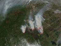 Aqua Image of Ft. McMurray Fires