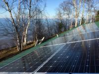 Solar on Lake Superior