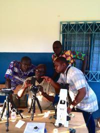 Portable Microscopes in the Ivory Coast