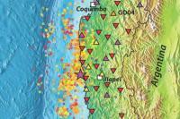 Broadband Seismometers Track Plate Tectonics near Illapel, Chile