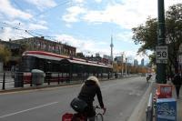 Bike and Rail Lanes