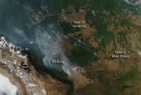 Scores of Wildfires Crisscross Bolivia