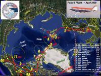 Route of Polar 5