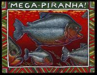 Artist's Rendering of <I>Megapiranha paranensis</I>