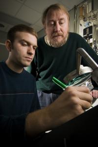 Richard Lenski and Jeffrey Barrick, Michigan State University