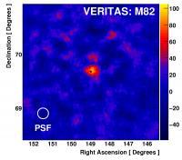 VERITAS Image of M82