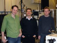 Dr. Pierre Thibault, Prof. Dr. Franz Pfeiffer and Martin Dierolf, Technische Universitaet Muenchen